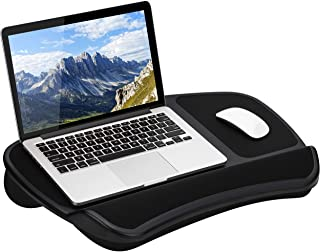 LapGear Original XL Laptop Lap Desk with Storage Pockets - Black - Style No. 45592