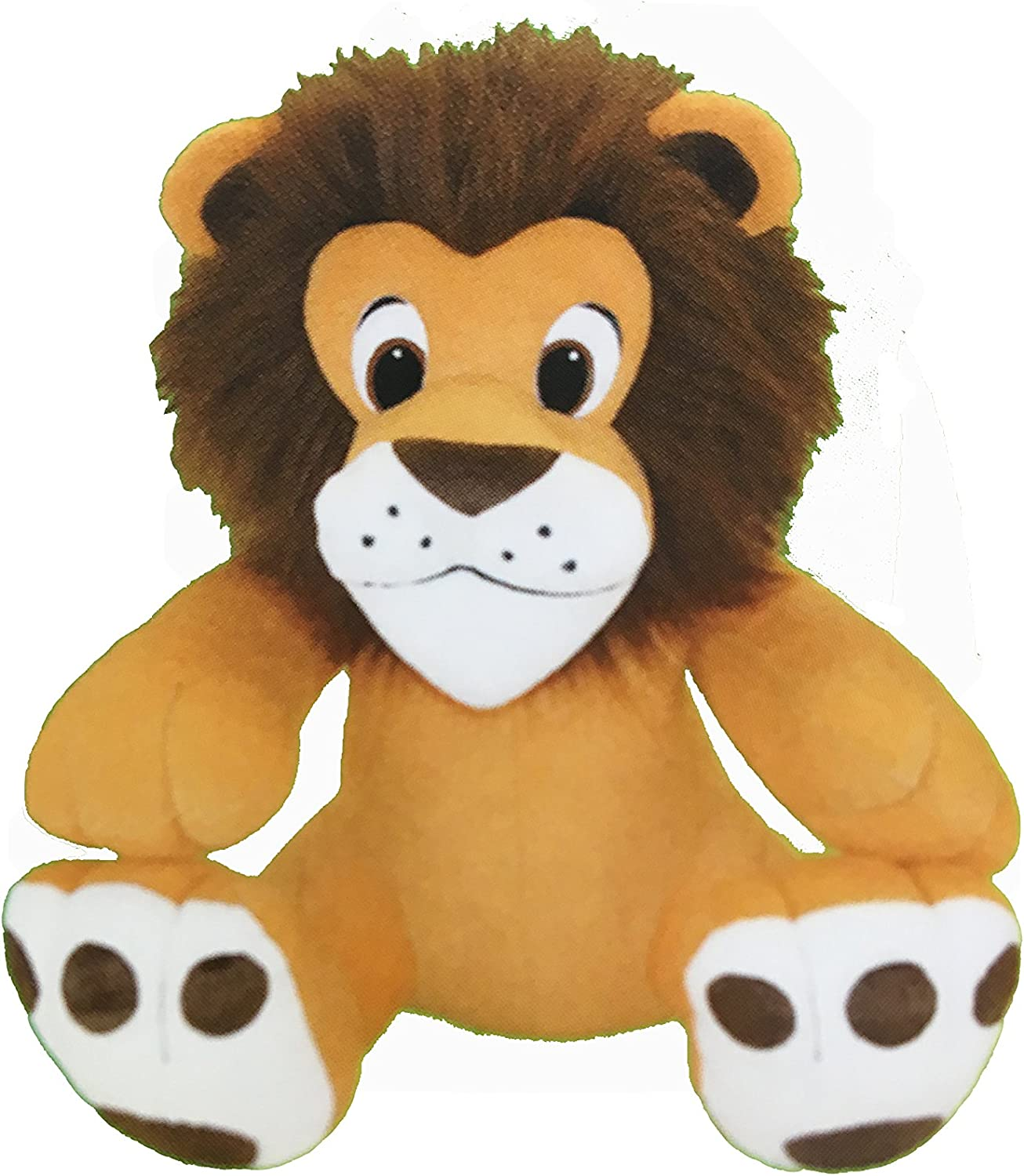 ToySource CTC008JU016AA Leaving The Lion Plush Toy, Grade  Kindergarten to 12, 16-Inch Height, 8-Inch Width, 12-Inch Length