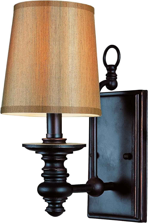 Trans Globe Lighting 9621 Sconce, Rubbed Oil Bronze