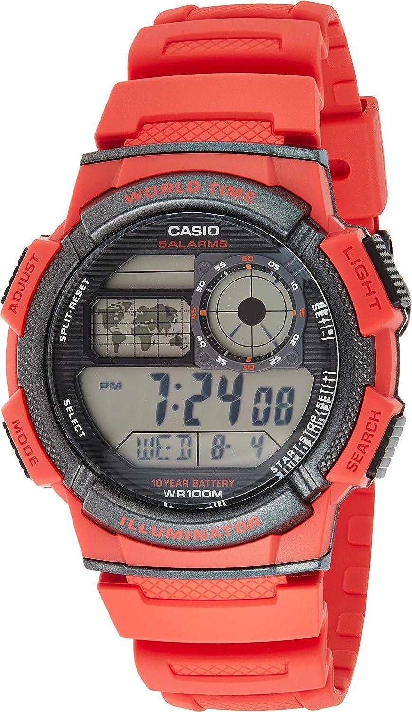 Casio Reloj con Movimiento Cuarzo japonés Man AE-1000W-4AVDF(D120) 40.0 mm