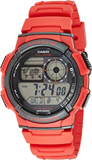 Casio AE-1000W-4AV For Men-Digital, Sport Watch, Resin
