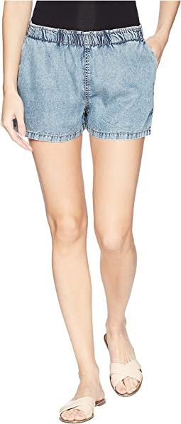 Tencel® Washed Woven Shorts