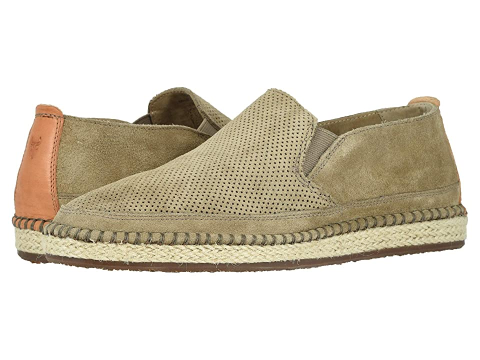 5be92e8c31c Trask Braxton (Taupe English Suede) Men s Slip on Shoes