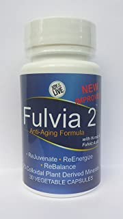 Fulvia 2 - Anti-Aging Formula With Humic and Fulvic Acid by Joy to Live - New Improved Formula