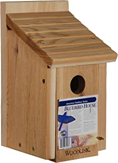 Woodlink Wooden Bluebird House - Model BB1