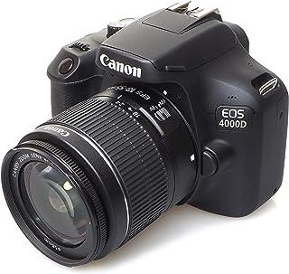 Canon EOS 4000d 18–55See cámara Negro