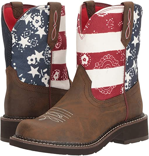 Toasted Brown/Old Glory