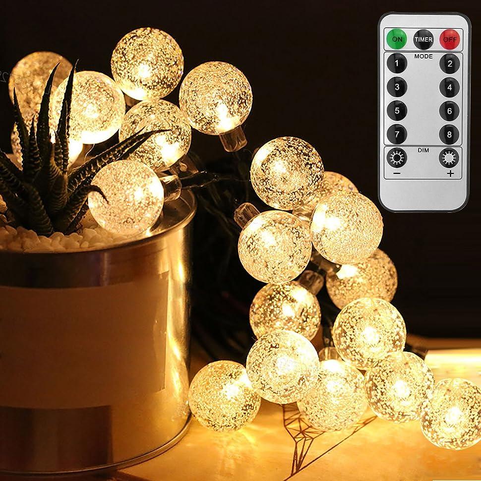郵便物シェード散文ANBURT LEDストリングライト LED電球*50個 5メートル 連結可能 クリスマス 結婚式 パーティー電飾 花火会