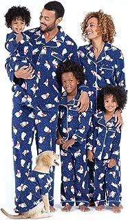human and dog pajama set