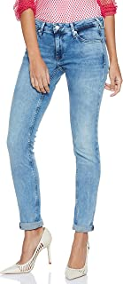 Tommy Hilfiger Women's Dw0Dw04724-Blue Tommy Hilfiger Skinny Jeans for Women - Blue