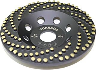 Tornado 125mm (5インチ) ダイヤモンド カップ型 研削盤 ホイールコンクリート石材研削 被覆除去 CDB最新技術採用,韓国産