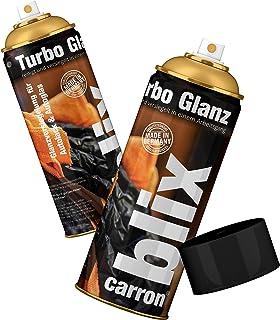 Blix Turbo Glanz Autopolitur Scheibenpolitur Hochglanz Versiegelung Auto schnell Politur reinigt + versiegelt in einem Arbeitsgang (1 x Spraydose 250ml)