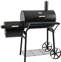 Mayer Barbecue RAUCHA Smoker MS-200 Pro Holzkohlegrill Smoker Grill, für direktes und..