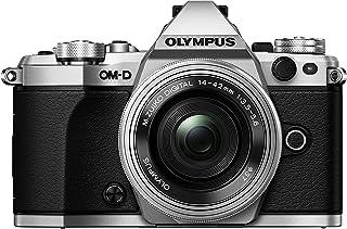 Olympus OM D E M5 Mark II Kit, Micro Four Thirds Systemkamera (16,1 Megapixel, 5 Achsen Bildstabilisator, elektronischer Sucher) + M.Zuiko Digital ED 14 42mm F3.5 5.6 EZ Zoomobjektiv, silber