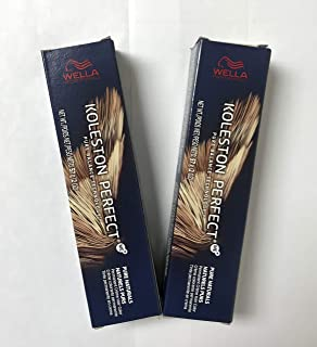 Wella Koleston Perfect ME+ Permanent Creme Hair Color (55/0 Intense Light Brown/Natural) 2oz (PACK OF 2)