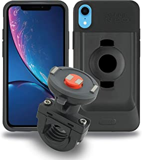 Tigra Sport FitClic Neo iPhone XR Self-Locking Magnetic Motorcycle Mounting System with Phone Case and Mount