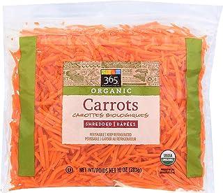 365 Everyday Value, Organic Shredded Carrots, 10 oz