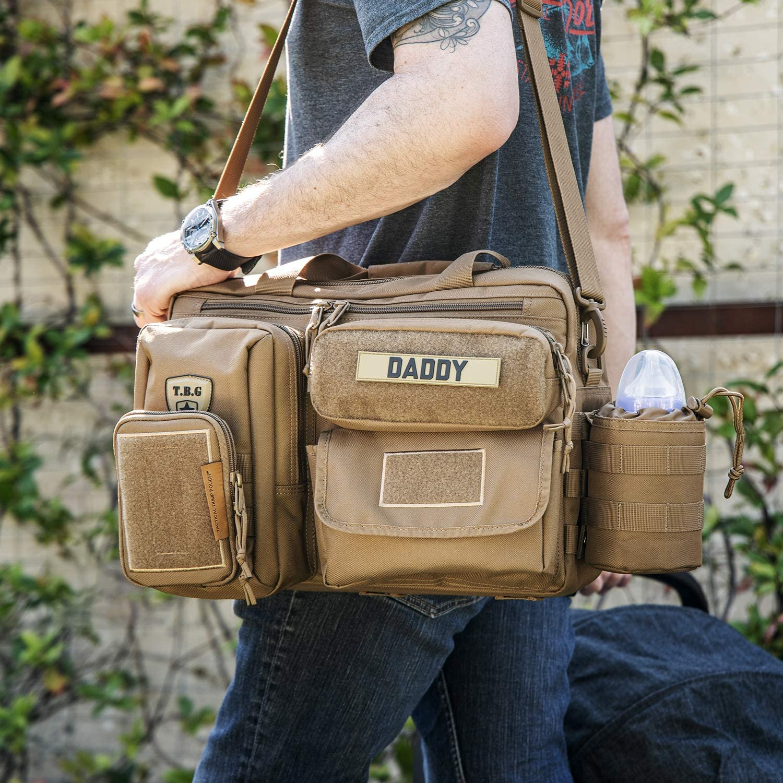 Tactical Baby Gear Deuce 2.0 Tactical Diaper Bag Combo Set und Wickelauflage