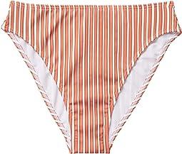 Bright White Loust Stripes
