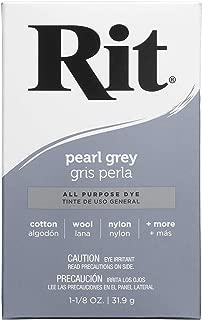 Rit 83390 03579000584 Purpose Powder Dye, Pearl Gray, 1-1/8 oz, Grey