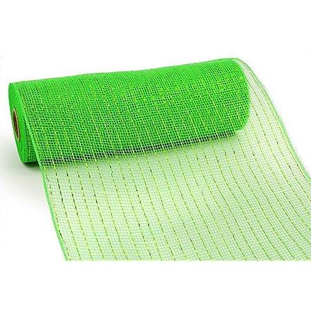 orange and green ~ best selling item lot 3 rolls 10 Halloween deco mesh roll 10 yds black