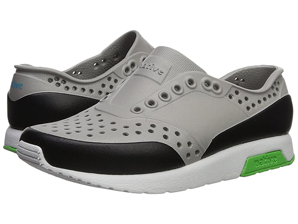 Native Kids Shoes Lennox Block (Toddler/Little Kid) (Pigeon Grey/Shell White/Riddle Green/Jiffy Block) Kids Shoes