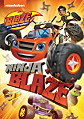 Blaze and the Monster Machines: Ninja Blaze arrives on DVD Aug. 27 from Nickelodeon