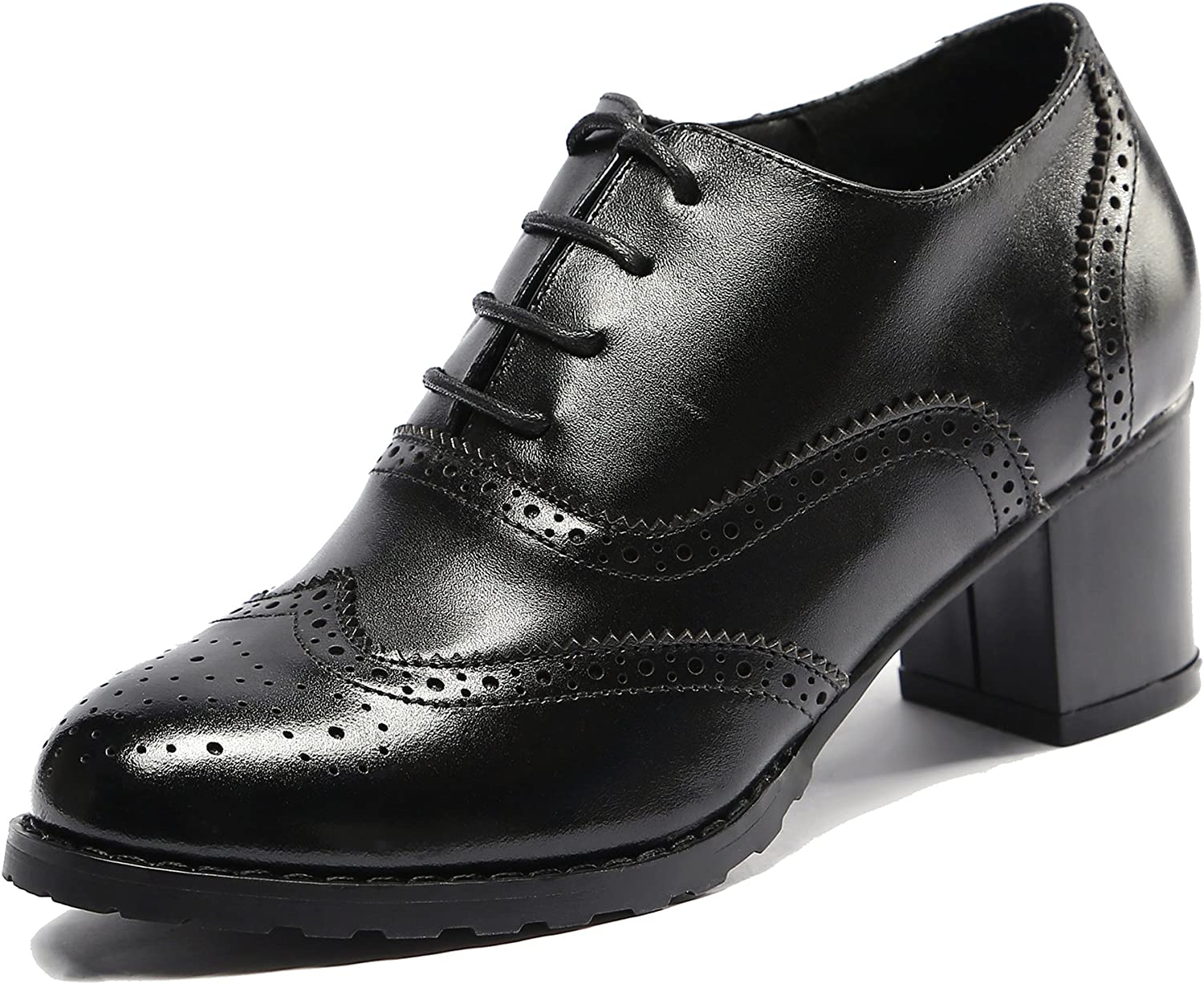 U-lite Womens Perforated Sales of SALE items from new works Lace-up New sales Wingtip Pump Oxfords Vi Leather