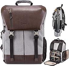 MDYYD Camera Backpack Camera Backpack Waterproof Photography Bag Large Capacity Multifunctional Camera Backpack Travel Hiking Camera Bag Color : Purple, Size : 28x41x14cm