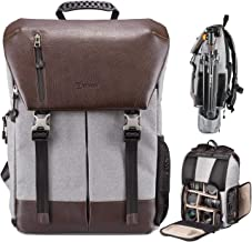 TARION Camera Backpack Waterproof Camera Bag Waterproof Certified IPX5 Large Capacity..