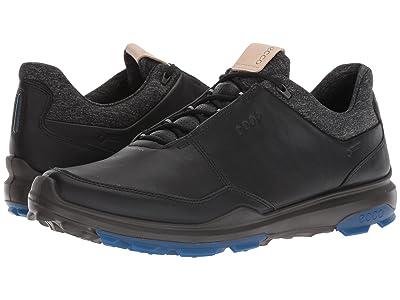 ECCO Golf Biom Hybrid 3 GTX (Black/Bermuda Blue) Men