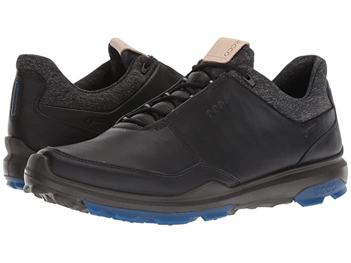 ECCO Golf BIOM Hybrid 3 Spikeless Golf Shoes BlackBlue