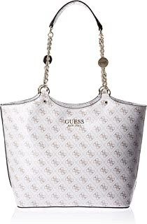 Guess Womens Handbag, White - SP767123
