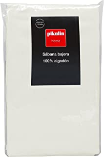 pikolin Home–Fitted Sheet, 100% Cotton Cama 100/105-105 x 200 cm Light Brown