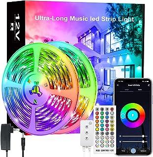 LED Strip Light 65.6ft, LED Lights for Bedroom,