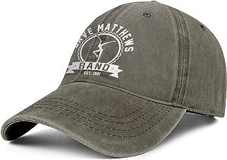 Adjustable Baseball Cap Strapback Vintage Washed Jeans Dad Hat Golf Trucker Hat Unisex-Rock Album Cover