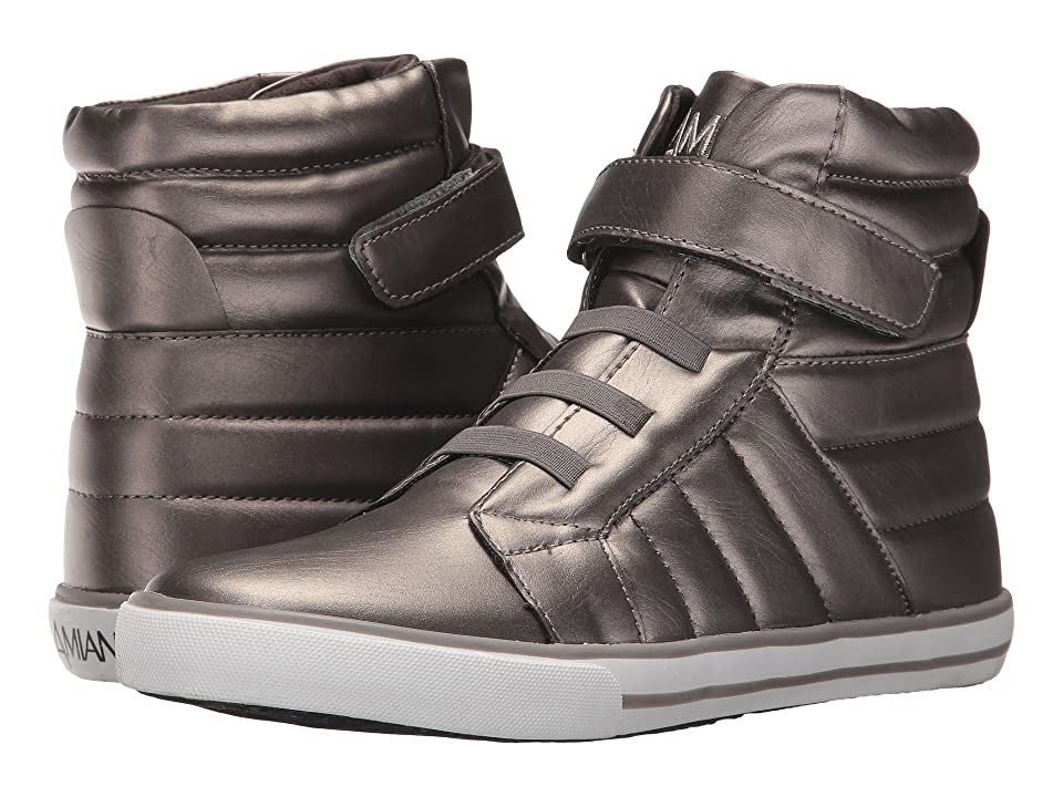 Image of Amiana 15-A5408 (Toddler/Little Kid/Big Kid/Adult) (Pewter Pearl PU) Girl's Shoes
