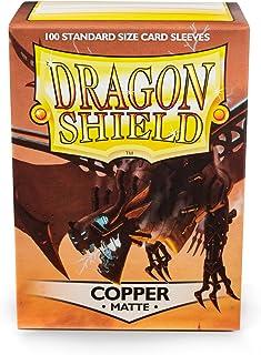 Arcane Tinman Sleeves: Dragon Shield Matte Copper, One Size