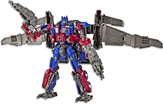 Transformers Toys Studio Series 44 Leader Class Dark of The Moon Movie Optimus Prime Action Figure - Kids Ages 8 & Up, 8.5