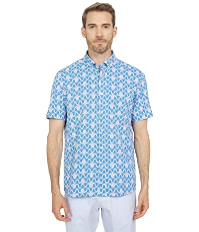 Southern Tide Turtle Intercoastal Short Sleeve Sports Shirt