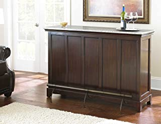 Amazon Com Counter Bars Wine Cabinets Home Bar Furniture