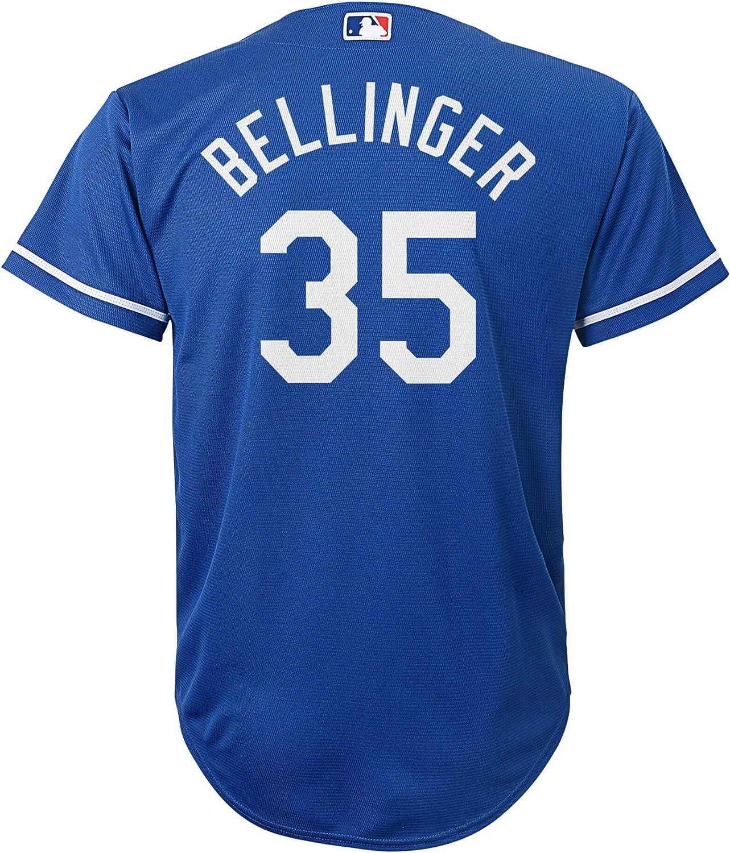 Cody Bellinger Kids T-Shirt Los Angeles D Baseball Cody Bellinger Los Angeles D Elite wht