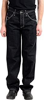 Gianfranco Ferre Men's Dark Wash Straight Leg Jeans US 31 IT 45 Gray