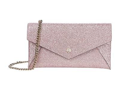 Kate Spade New York Burgess Court Chain Clutch (Rose Gold) Handbags