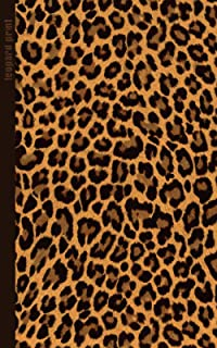 Leopard Print: Gifts / Gift / Presents ( Leopard Skin / Fur - Ruled Notebook ) [ Animal Print Stationery / Accessories ] (Contemporary Design)