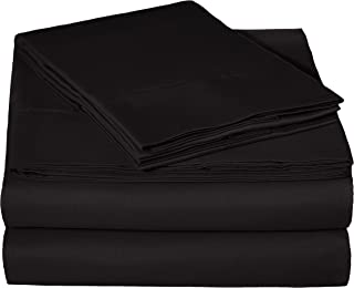 cheap black silk sheets