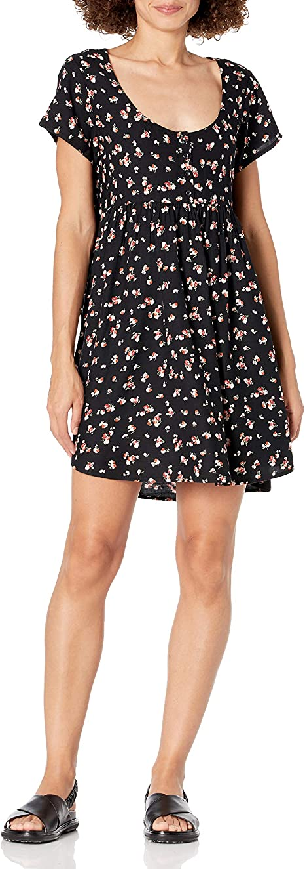Volcom Womens Sorry Babe Strappy Cami Dress