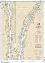 Paradise Cay Publications NOAA Chart 12347: Hudson River Wappinger Creek to Hudson 31.2 x 43.5 (TRADITIONAL PAPER)