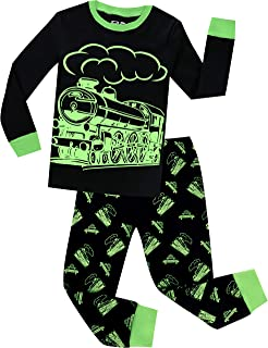 Pajamas for Boys Christmas Baby Dinosaur Clothes Kid Children Pants Set 2 Pieces Sleepwear