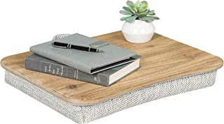 LapGear Heritage Lap Desk - Rustic Brown - Fits up to 17.3 Inch laptops - Style No. 45602